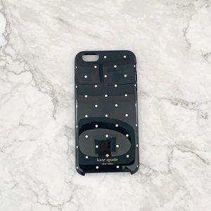 Kate Spade iPhone Case 7+/6s/6 black